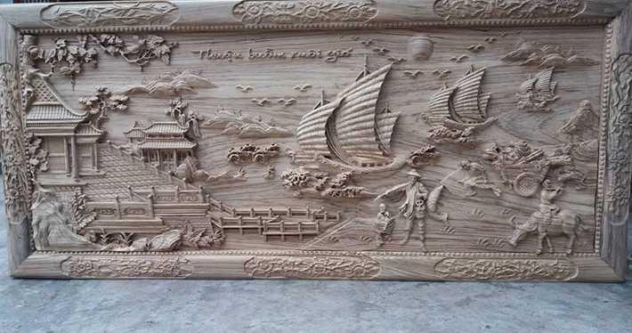 Cắt khắc CNC trên gỗ giá rẻ, uy tín tại Gia Lai