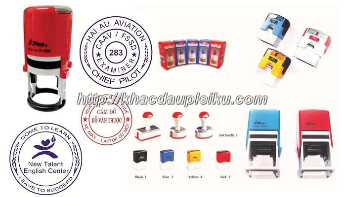 Dịch vụ khắc dấu logo giá rẻ lấy ngay tại Gia Lai