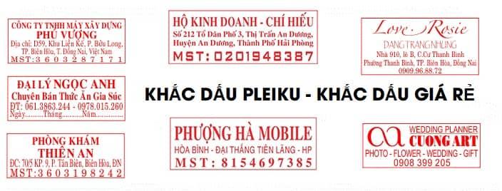 Mẫu làm con dấu hộ kinh doanh tại Gia Lai - Khắc dấu Pleiku