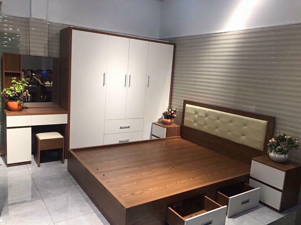 Combo nội thất phòng ngủ 7 món - VCB 2