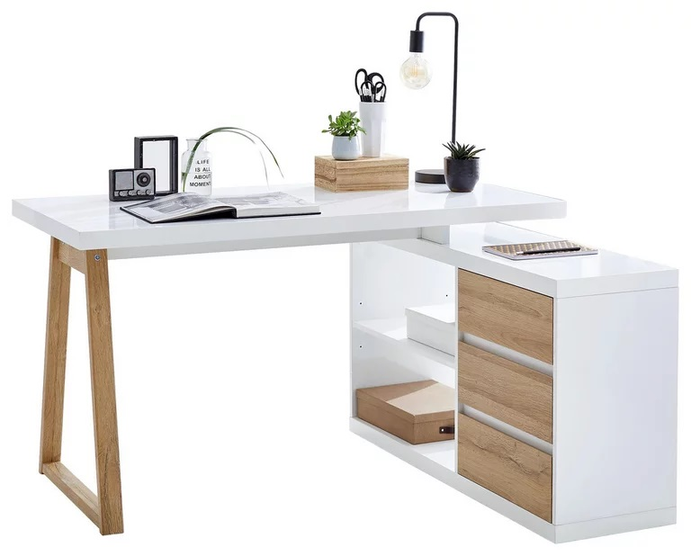 Mẫu bàn học gỗ MDF - VH 3