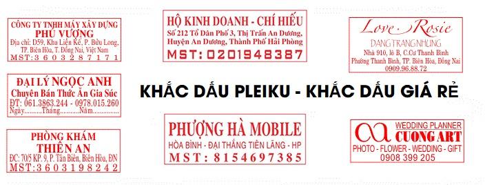 Dịch vụ khắc dấu vuông tại Gia Lai | Khắc dấu giá rẻ