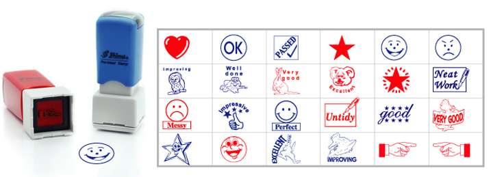 Mẫu con dấu logo cho giáo viên, học sinh tham khảo
